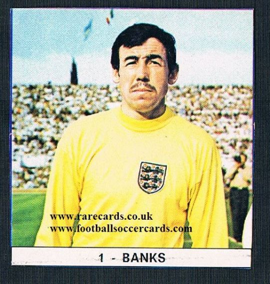 1971 Gordon Banks Monello Italy